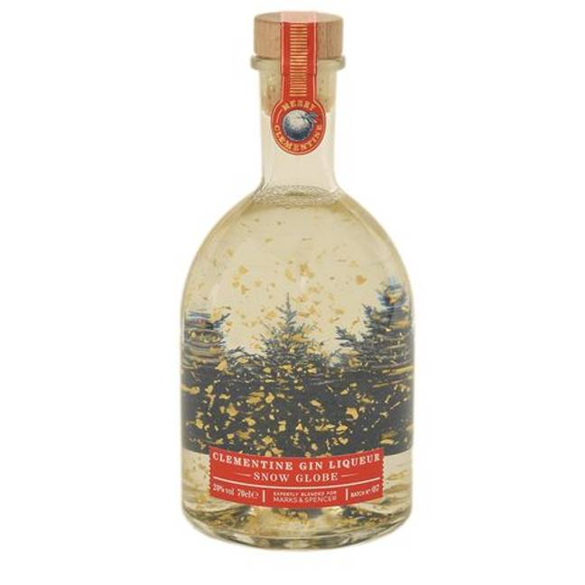 M&S's snow globe gins cost £18 (Credit: M&S)