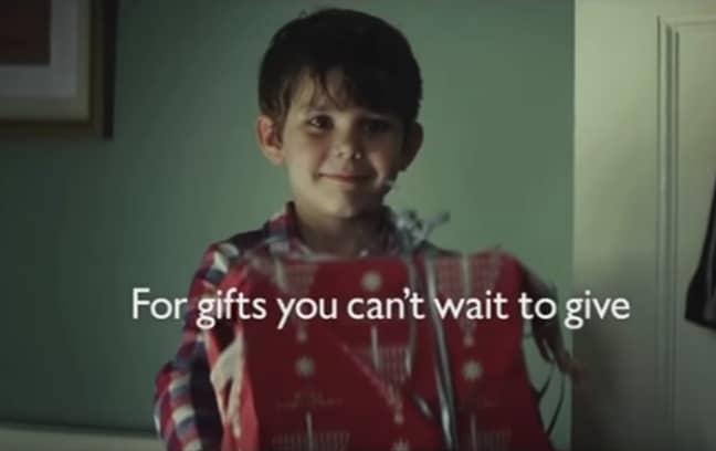 John Lewis' 2011 advert was 'The Long Wait'. (Credit: John Lewis)