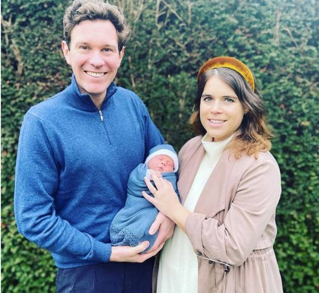 Eugenie has shared the first pictures of her little boy (Credit: Princess Eugenie)