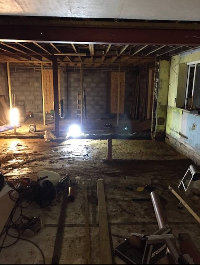 It took two years to renovate indoors (Credit: Michaela Zaben)
