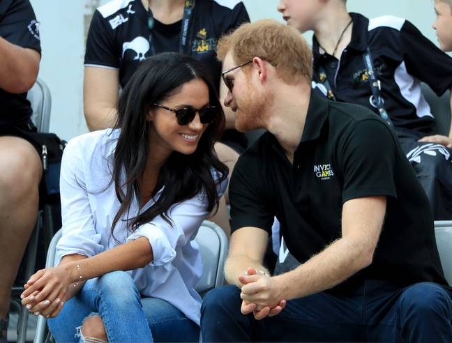 Meghan and Harry would keep their relationship very private (Credit: PA Images)