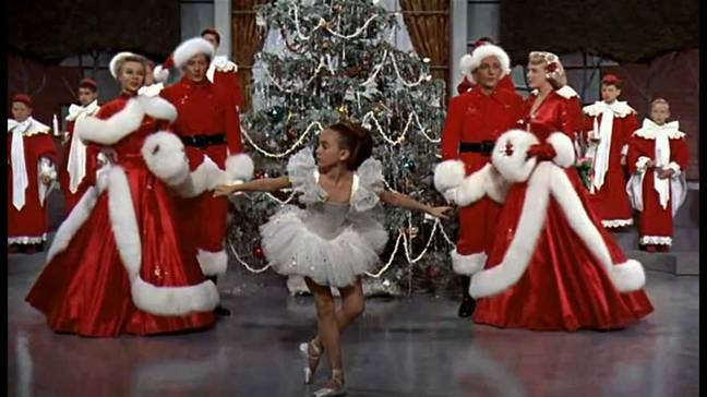 White Christmas came in second place (Credit: Paramount Pictures)