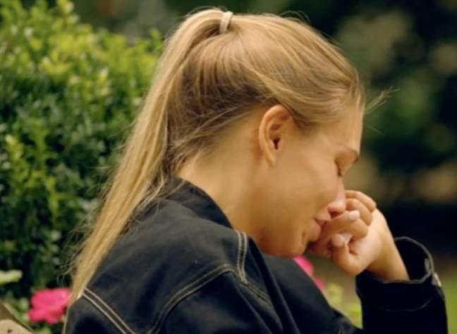 Sam told a tearful Zara he couldn't take her back (Credit: E4)