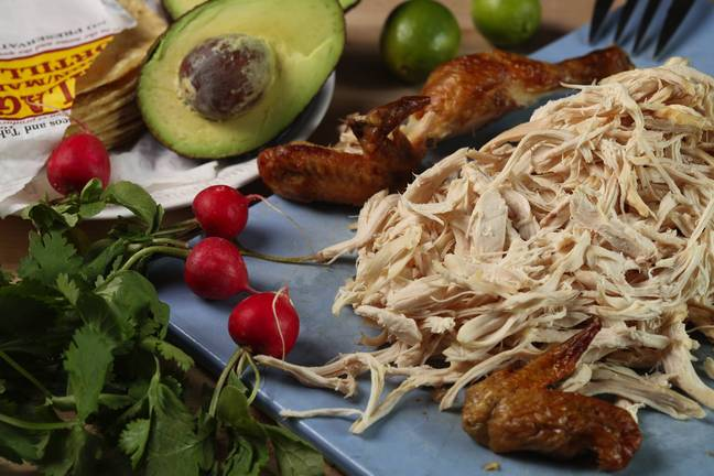 Shredded chicken can be used in lots of different recipes (Credit: PA)