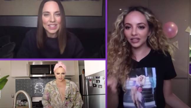 Jade was joined by Courtney Act and Mel C (Credit: MTV/YouTube)