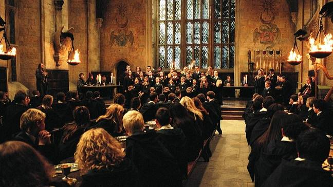 Can you believe Hogwarts is turning 20? (Credit: Warner Bros)