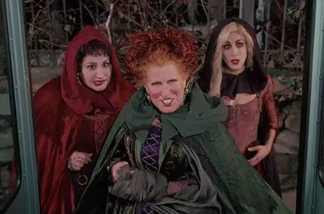 The original movie starred (left to right) Kathy Najimy, Bette Midler and Sarah Jessica Parker (Credit: Disney)