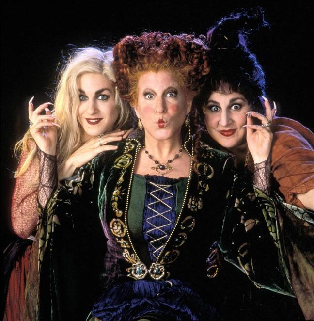 There will be a 'Hocus Pocus' reunion (Credit: Disney)