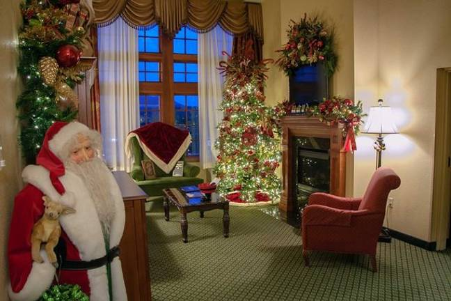 Santa's Suite (Credit: The Inn at Christmas Place)