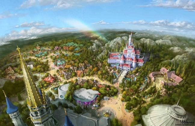Disneyland Tokyo's Beauty and The Beast Land is now open