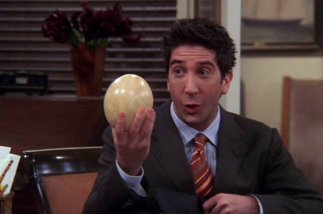 Friends Character Ross Geller is ranked seventh place (Credit: Warner Bros)