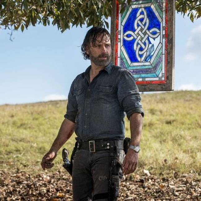 There's a movie on the way - and it focuses on Rick Grimes (Credit: AMC)