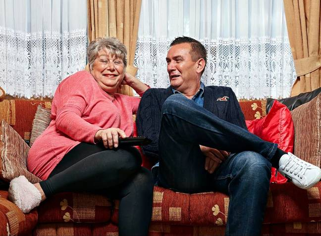 Gogglebox stars were accused of failing to social distance (Credit: Channel 4)
