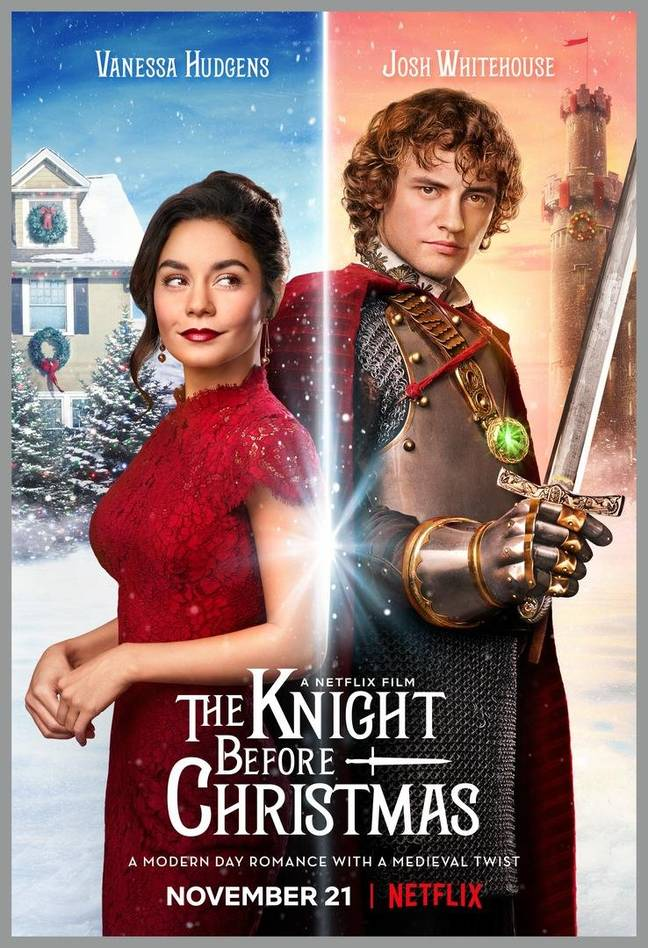 'The Knight Before Christmas' drops on 21st November. (Credit: Netflix)