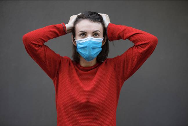 Wearing a face mask and social distancing is now commonplace (Credit: Unsplash)