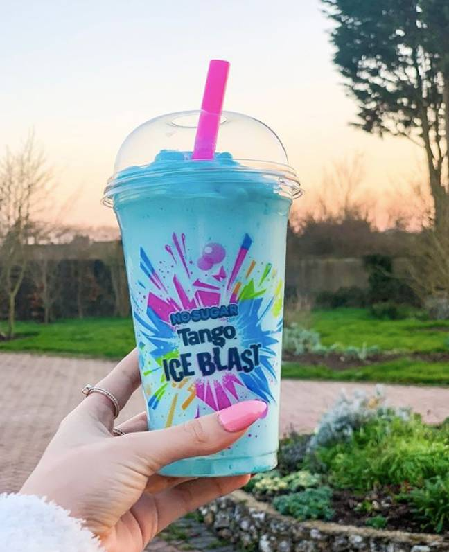 Movie nights aren't the same without a Tango Ice Blast (Credit: Tango Ice Blast/Instagram)