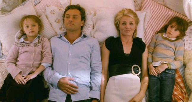 Miffy acted alongside Jude Law and Cameron Diaz in the Hollywood film (Credit: Columbia Pictures)