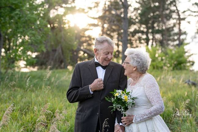 The couple grew up during the Great Depression (Credit: Kate Autry Photography)