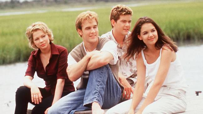 The cast of Dawson's Creek. Available to stream on Netflix right now! (Credit: Sony Pictures Television)