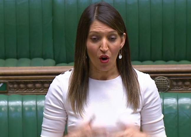 Dr Rosena spoke passionately about her experiences on the frontline (Credit: BBC)