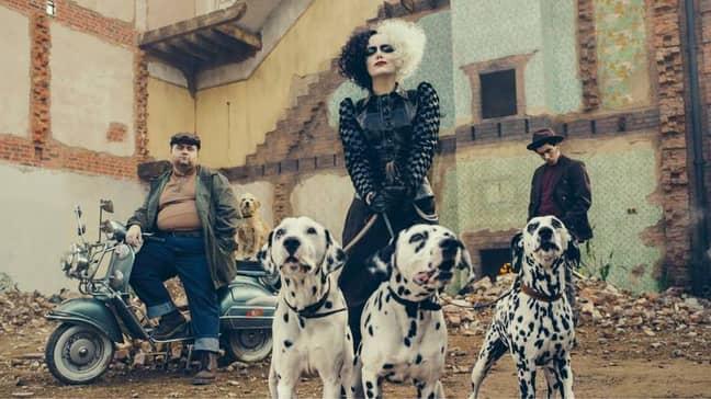 The Cruella trailer premiered on Wednesday (Credit: Disney)