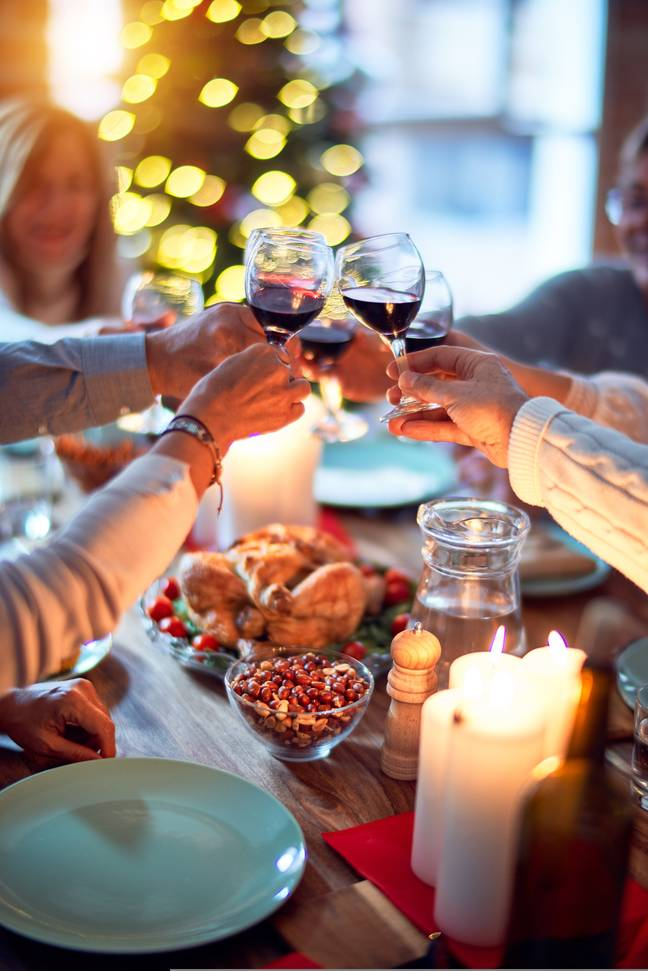Police could enter homes to break up family Christmas dinners (Credit: Unsplash)