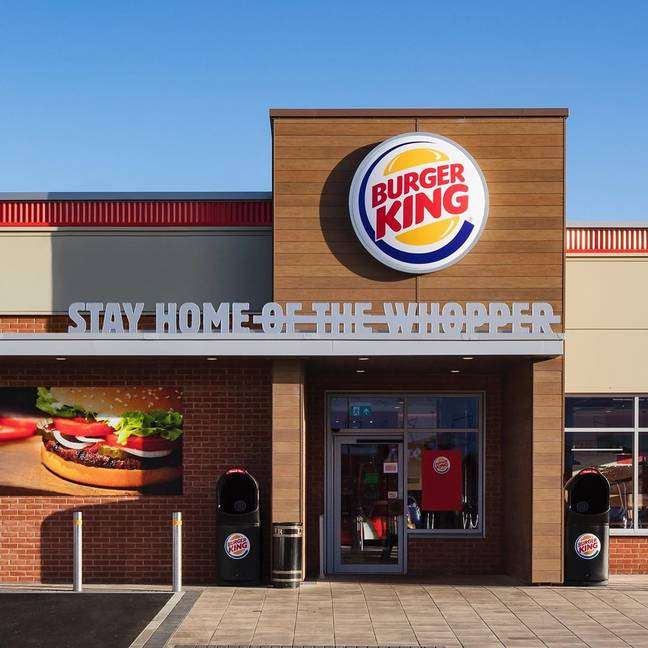 The news comes as Burger King continues its phased re-opening plan following lockdown (Credit: Instagram / Burger King UK)