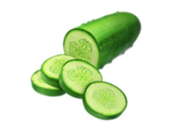 Kate Middleton likes the cucumber emoji (Credit: Emojipedia)
