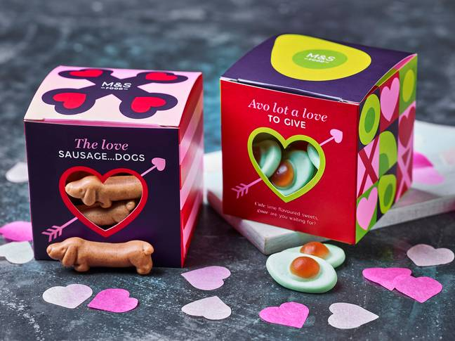 The pawfect pack of sausage dog sweets are just £2 (Credit: M&S)