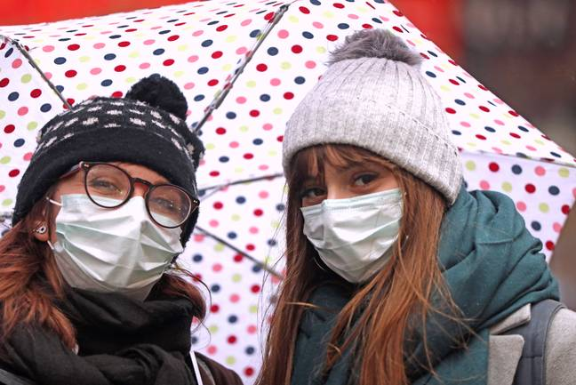 The WHO advises against wearing masks purely to avoid infection (Credit: PA)