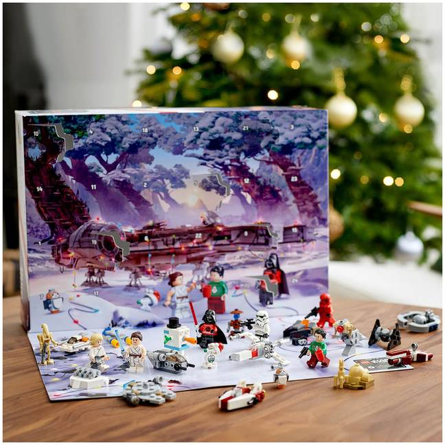 A Star Wars calendar is also available (Credit: Lego)