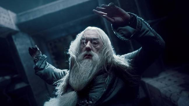 Something about Dumbledore's death funny to you, Ron? (Credit: Warner Bros)