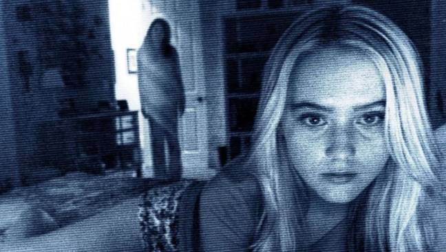 Surely any horror movie night has to feature the 'Paranormal Activity' franchise?