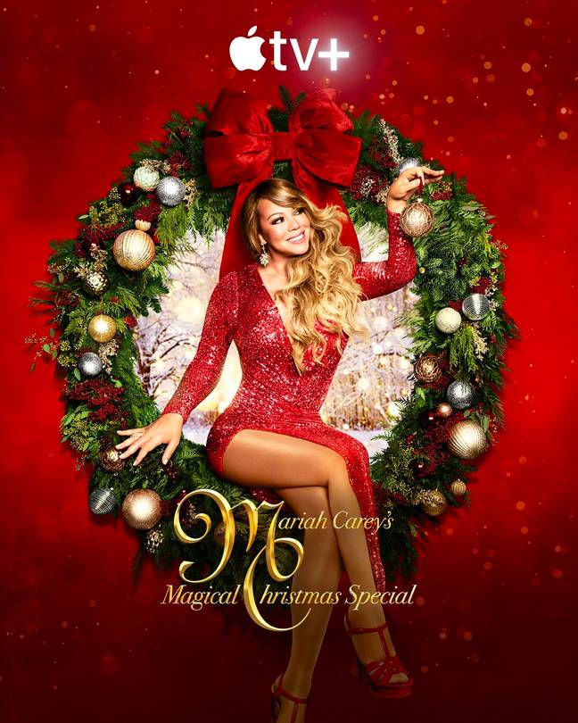 Mariah Carey's Magical Christmas Special will be availably globally on 4 December (Credit: Apple TV/Mariah Carey)