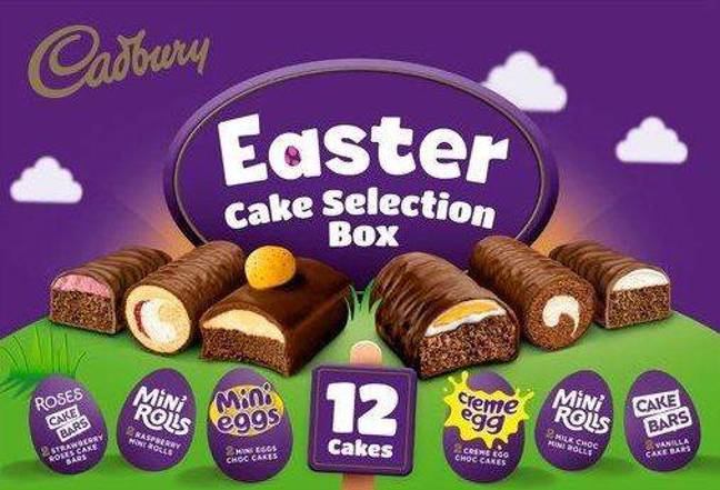 Tesco has an Easter cake selection box up for grabs (Credit: Tesco)