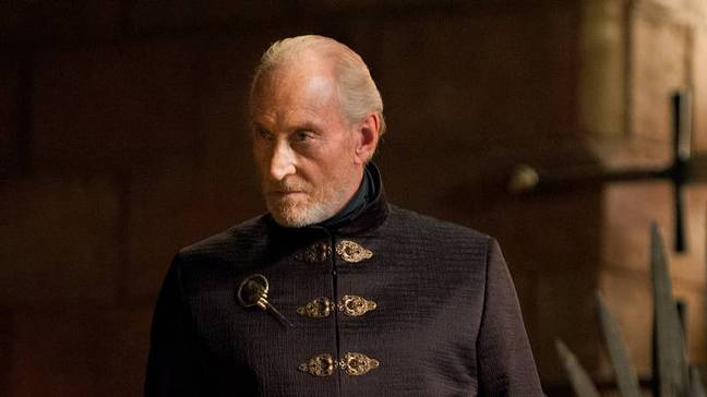 Charles played Tywin Lannister in the series (Credit: HBO)