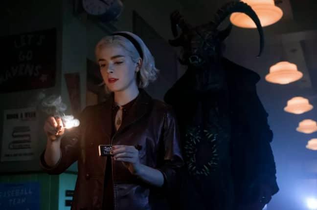 Sabrina now faces an all out war (Credit: Netflix)