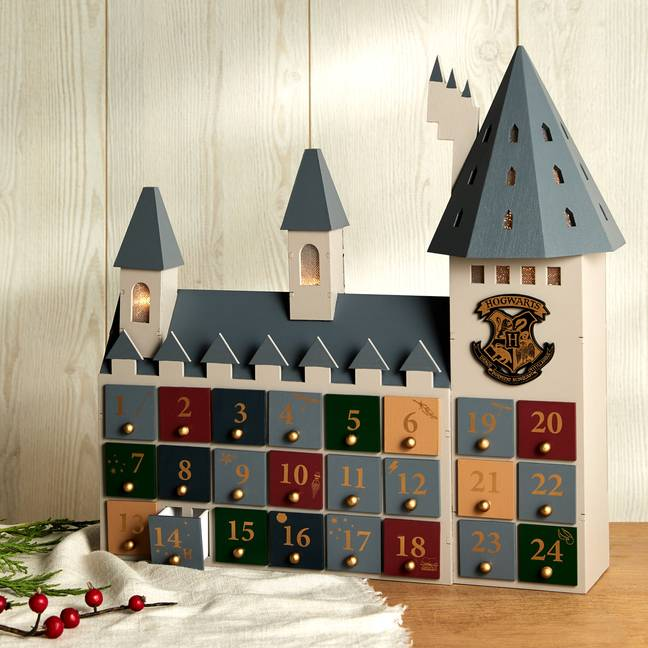 The Hogwarts themed calendar is priced at £16 (Credit: Primark)