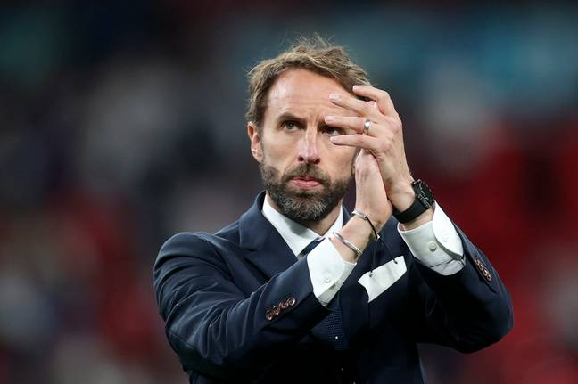 Gareth Southgate took responsibility for the defeat. (Credit: PA)