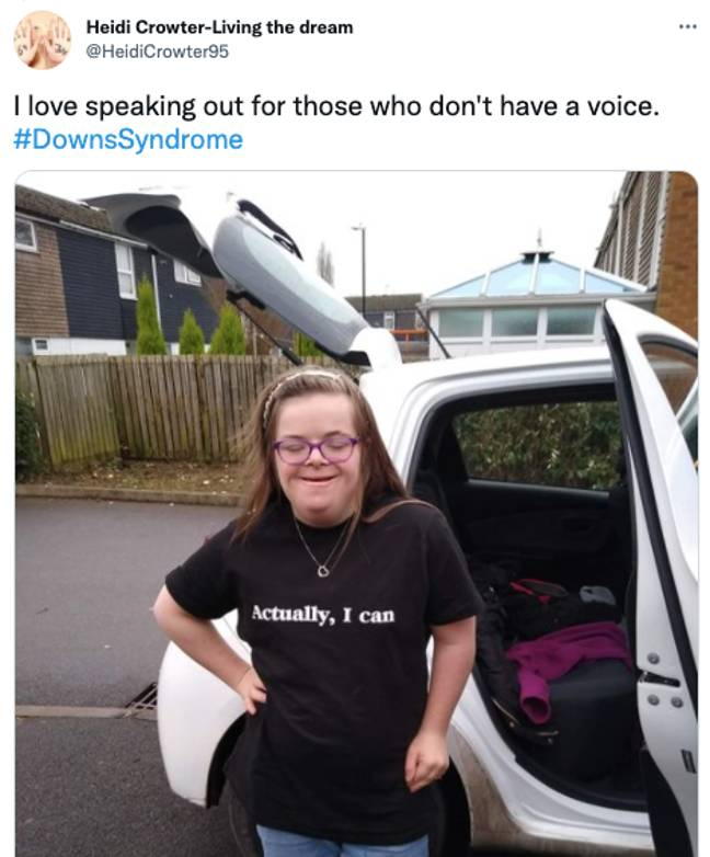 Heidi and Máire have raised over £100,000 to challenge the law (Credit: Twitter)