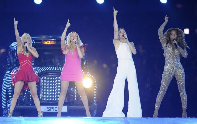 The Spice Girls had a reunion tour in 2019 (Credit: PA Images)