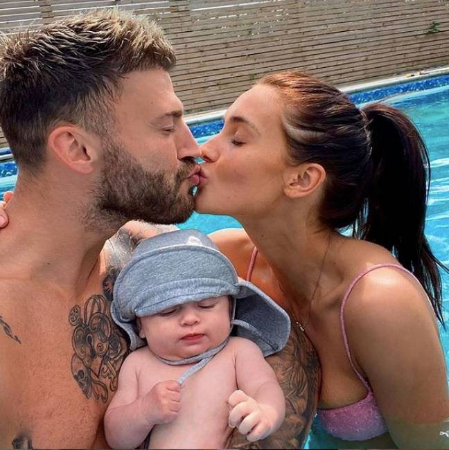 Jake and Sophie welcomed Leo earlier this year (Credit: Instagram - jakequickenden)