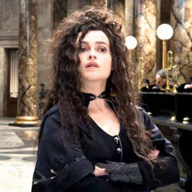 Bellatrix's outfit is considered sexier (Credit: Warner Bros)