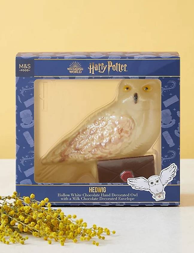 The chocolate Hedwig is expected to swoop off the shelves (Credit: M&S)