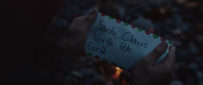 The advert's message is to make time for loved ones this Christmas (Credit: Coca-Cola)