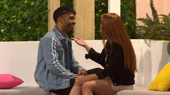 Nas is finally happy, but could Casa Amor shake things up? (Credit: ITV)