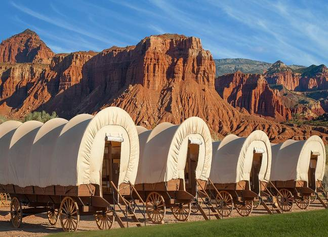 Imagine that for a morning view! (Credit: Capitol Reef Resort)