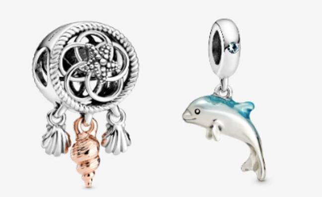 There are rings, charms and bracelets to choose from (Credit: Pandora)