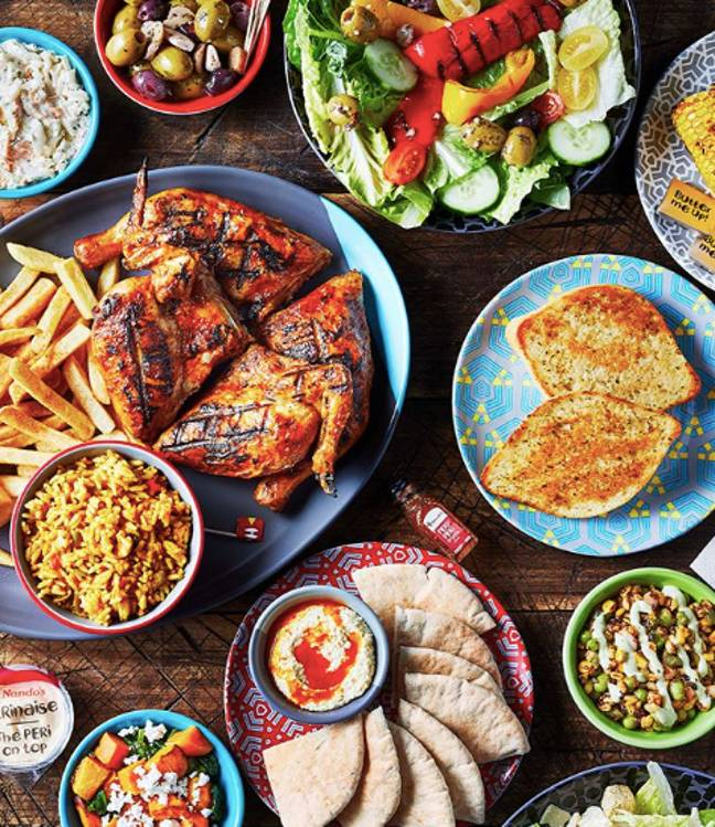 You can now order Nando's to your door (Credit: Nando's/ Instagram)