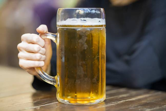 The new proposals could see the massive pint glasses introduced (Credit: Unsplash)